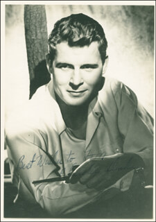 CHARLES DRAKE - AUTOGRAPHED INSCRIBED PHOTOGRAPH