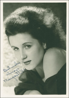 MARGARET WHITING - AUTOGRAPHED SIGNED PHOTOGRAPH