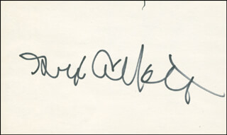 Autographs: GEORGE F. ABBOTT - SIGNATURE(S)