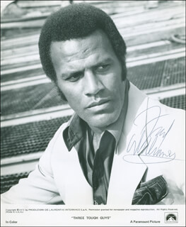 FRED WILLIAMSON - AUTOGRAPHED SIGNED PHOTOGRAPH