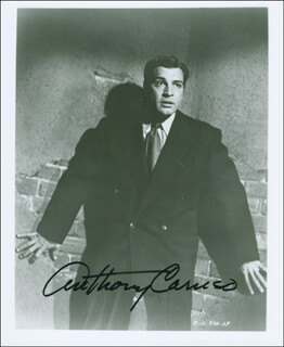 ANTHONY CARUSO - AUTOGRAPHED SIGNED PHOTOGRAPH
