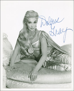 DOLORES GRAY - AUTOGRAPHED SIGNED PHOTOGRAPH