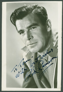 ROD CAMERON - AUTOGRAPHED INSCRIBED PHOTOGRAPH