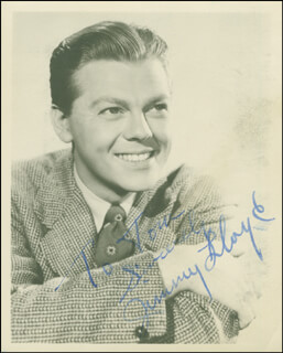 JIMMY LLOYD - AUTOGRAPHED INSCRIBED PHOTOGRAPH