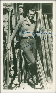 JOHN LODER - AUTOGRAPHED SIGNED PHOTOGRAPH