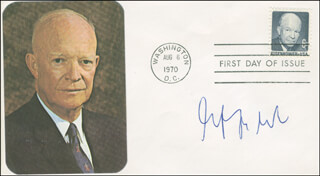 Autographs: ECKART AFHELDT - FIRST DAY COVER SIGNED