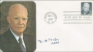 MARSHAL DERMOT BOYLE - FIRST DAY COVER SIGNED