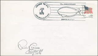 COLONEL CARL J. CRANE - COMMEMORATIVE ENVELOPE SIGNED 08/1979