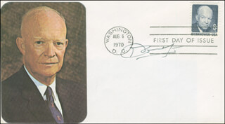 LT. GENERAL MICHEL G.L. MIKE DONNET - FIRST DAY COVER SIGNED