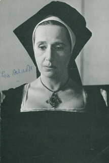 DAME PEGGY ASHCROFT - AUTOGRAPHED SIGNED PHOTOGRAPH