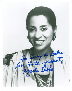 MARLA GIBBS - AUTOGRAPHED INSCRIBED PHOTOGRAPH