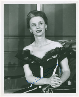 JESSICA TANDY - AUTOGRAPHED SIGNED PHOTOGRAPH