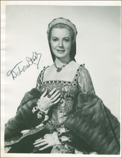 DEBORAH KERR - PHOTOGRAPH DOUBLE SIGNED