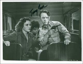 Autographs: TOMMY COOK - PHOTOGRAPH SIGNED