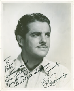 ROBERT BOB CUMMINGS - AUTOGRAPHED INSCRIBED PHOTOGRAPH