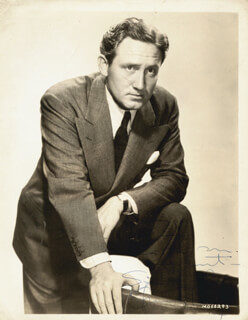 SPENCER TRACY - AUTOGRAPHED INSCRIBED PHOTOGRAPH