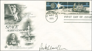 JOHN ANTHONY LLEWELLYN - FIRST DAY COVER SIGNED