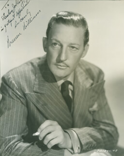WARREN WILLIAM - AUTOGRAPHED INSCRIBED PHOTOGRAPH
