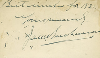 JACK BUCHANAN - AUTOGRAPH SENTIMENT SIGNED 1921