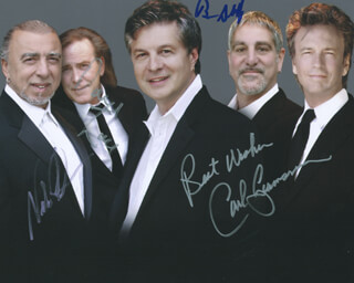 THE BUCKINGHAMS - AUTOGRAPHED SIGNED PHOTOGRAPH CO-SIGNED BY: THE BUCKINGHAMS (NICK FORTUNA), THE BUCKINGHAMS (CARL GIAMMARESE), BUCKINGHMS, THE (DAVE ZANE), THE BUCKINGHAMS (BRUCE SOBOROFF)