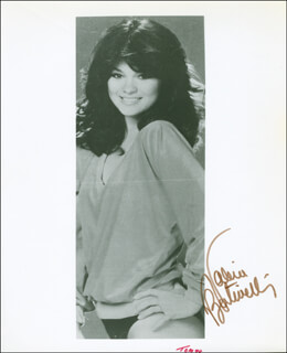 VALERIE BERTINELLI - AUTOGRAPHED SIGNED PHOTOGRAPH