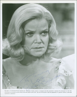 EILEEN BRENNAN - AUTOGRAPHED INSCRIBED PHOTOGRAPH