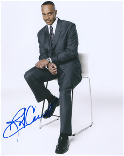 ROCKY CARROLL - AUTOGRAPHED SIGNED PHOTOGRAPH