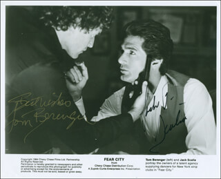 TOM BERENGER - AUTOGRAPHED SIGNED PHOTOGRAPH