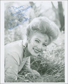 AMANDA MISS KITTY BLAKE - AUTOGRAPHED INSCRIBED PHOTOGRAPH