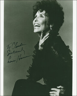 LENA HORNE - AUTOGRAPHED INSCRIBED PHOTOGRAPH