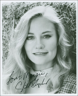 CYBILL SHEPHERD - AUTOGRAPHED INSCRIBED PHOTOGRAPH