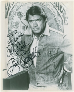CHAD EVERETT - AUTOGRAPHED INSCRIBED PHOTOGRAPH