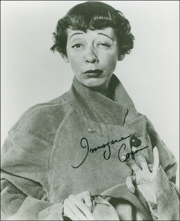 IMOGENE COCA - AUTOGRAPHED SIGNED PHOTOGRAPH