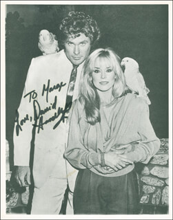 DAVID HASSELHOFF - AUTOGRAPHED INSCRIBED PHOTOGRAPH