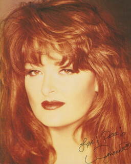 THE JUDDS (WYNONNA JUDD) - AUTOGRAPHED SIGNED PHOTOGRAPH