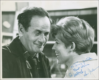 ELI WALLACH - AUTOGRAPHED INSCRIBED PHOTOGRAPH CO-SIGNED BY: ANNE JACKSON