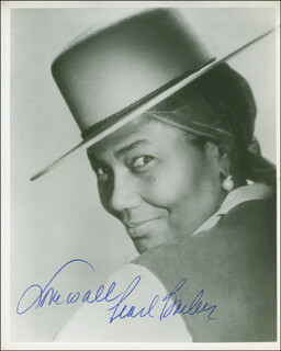 PEARL BAILEY - AUTOGRAPHED SIGNED PHOTOGRAPH  - HFSID 296455