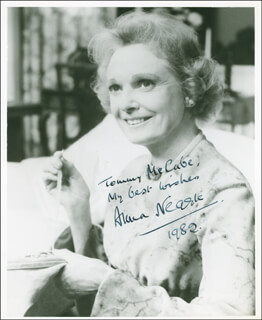 ANNA NEAGLE - AUTOGRAPHED INSCRIBED PHOTOGRAPH 1982