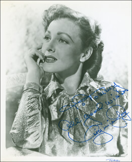 VIRGINIA GREY - AUTOGRAPHED INSCRIBED PHOTOGRAPH