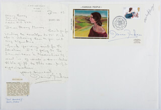 MONICA ENID DICKENS - AUTOGRAPH LETTER SIGNED 12/23/1980