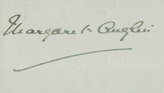 MARGARET ANGLIN - AUTOGRAPH