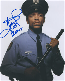 Autographs: ICE-T - PHOTOGRAPH SIGNED 2011