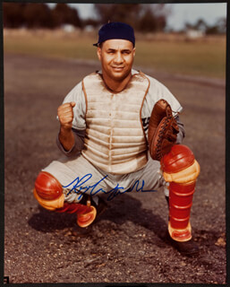 ROY CAMPY CAMPANELLA - AUTOGRAPHED SIGNED PHOTOGRAPH