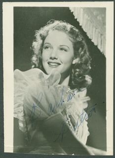 BARBARA BRITTON - AUTOGRAPHED SIGNED PHOTOGRAPH