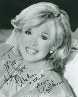 CONNIE STEVENS - AUTOGRAPHED INSCRIBED PHOTOGRAPH