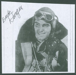 LT. COMMANDER FRED BUCK DUNGAN - PRINTED PHOTOGRAPH SIGNED IN INK