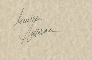 MAUREEN ANDERMAN - AUTOGRAPH