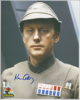 KENNETH COLLEY - AUTOGRAPHED SIGNED PHOTOGRAPH