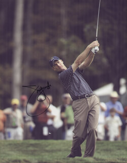 JIM FURYK - AUTOGRAPHED SIGNED PHOTOGRAPH