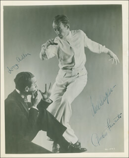 FERRANTE & TEICHER (ARTHUR FERRANTE) - AUTOGRAPHED SIGNED PHOTOGRAPH CO-SIGNED BY: PAUL DRAPER, LARRY ADLER